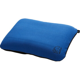 Nordisk Nat Pillow Square, blue/black